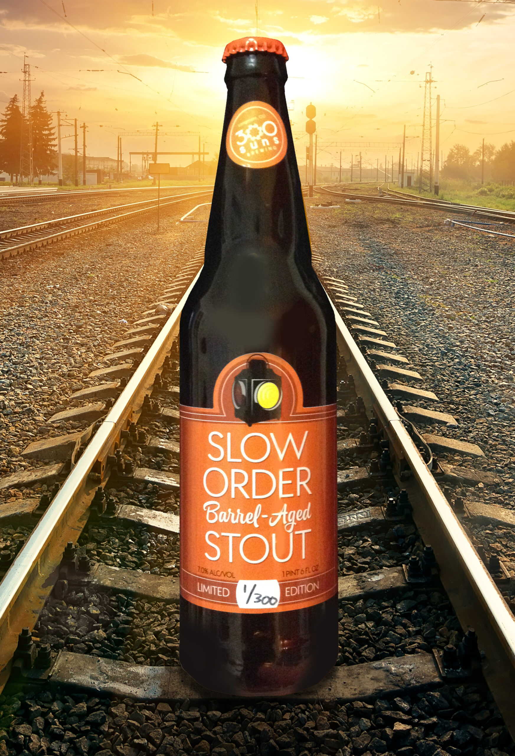 300 Suns Brewing Slow Order Barrel-Aged Stout