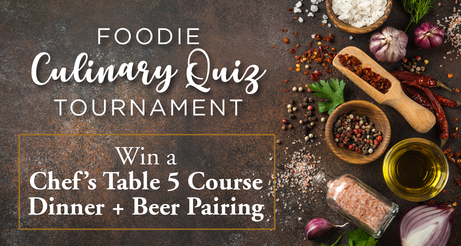 Foodie Culinary Quiz Tournament – Round 3