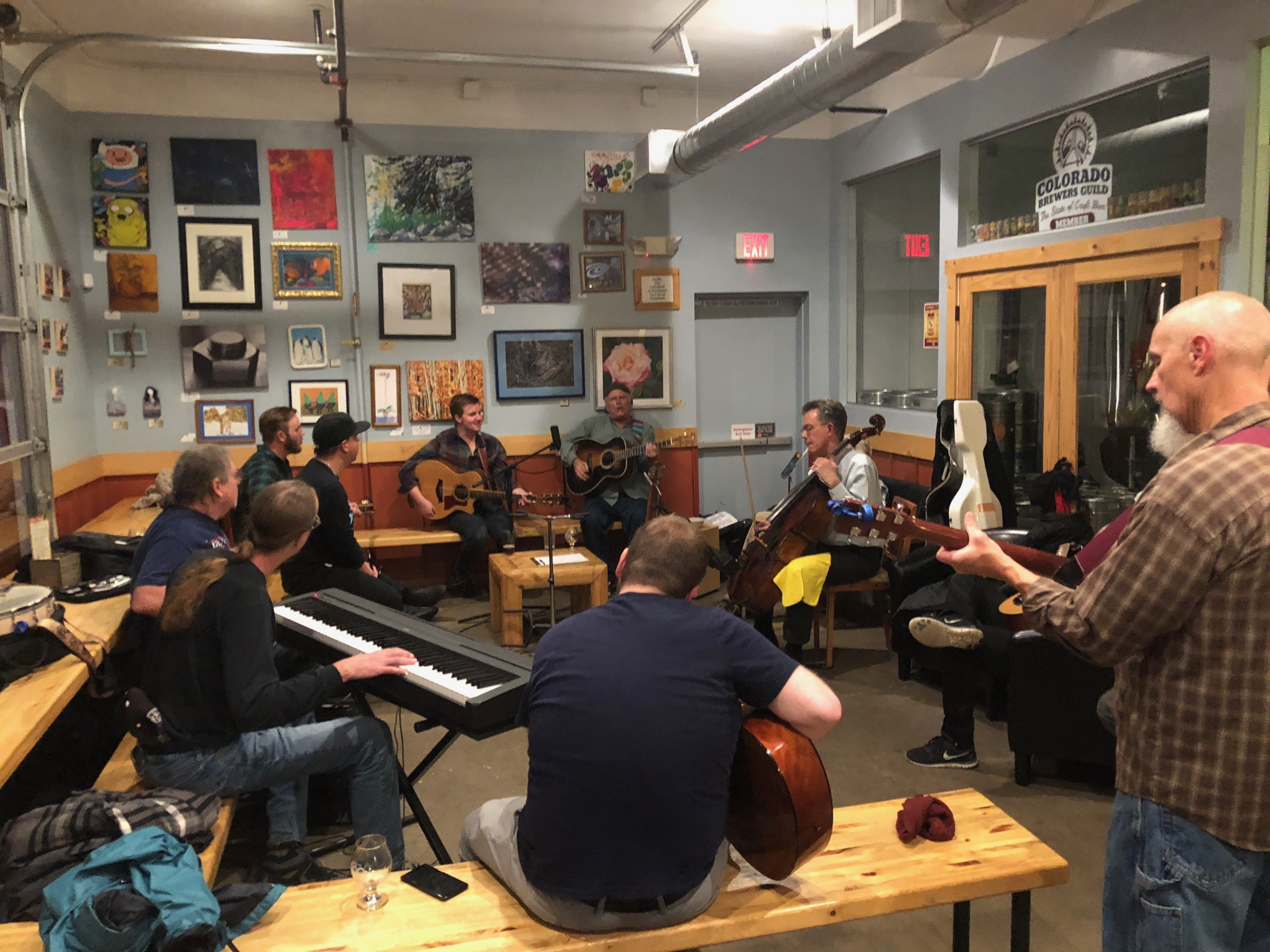 Drop-in Acoustic Jam