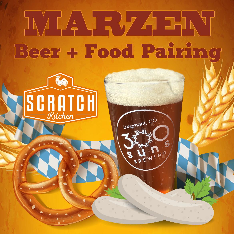 Marzen Beer + Food Pairing