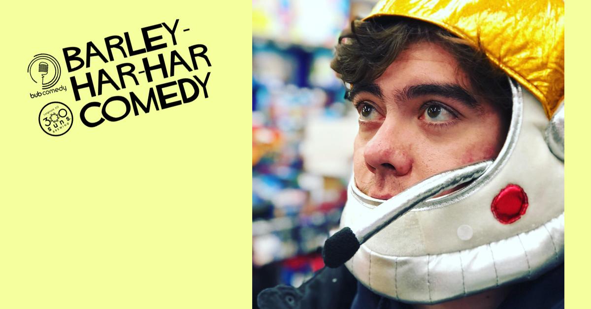 Barley-Har-Har Comedy with Headliner Jacob Rubb