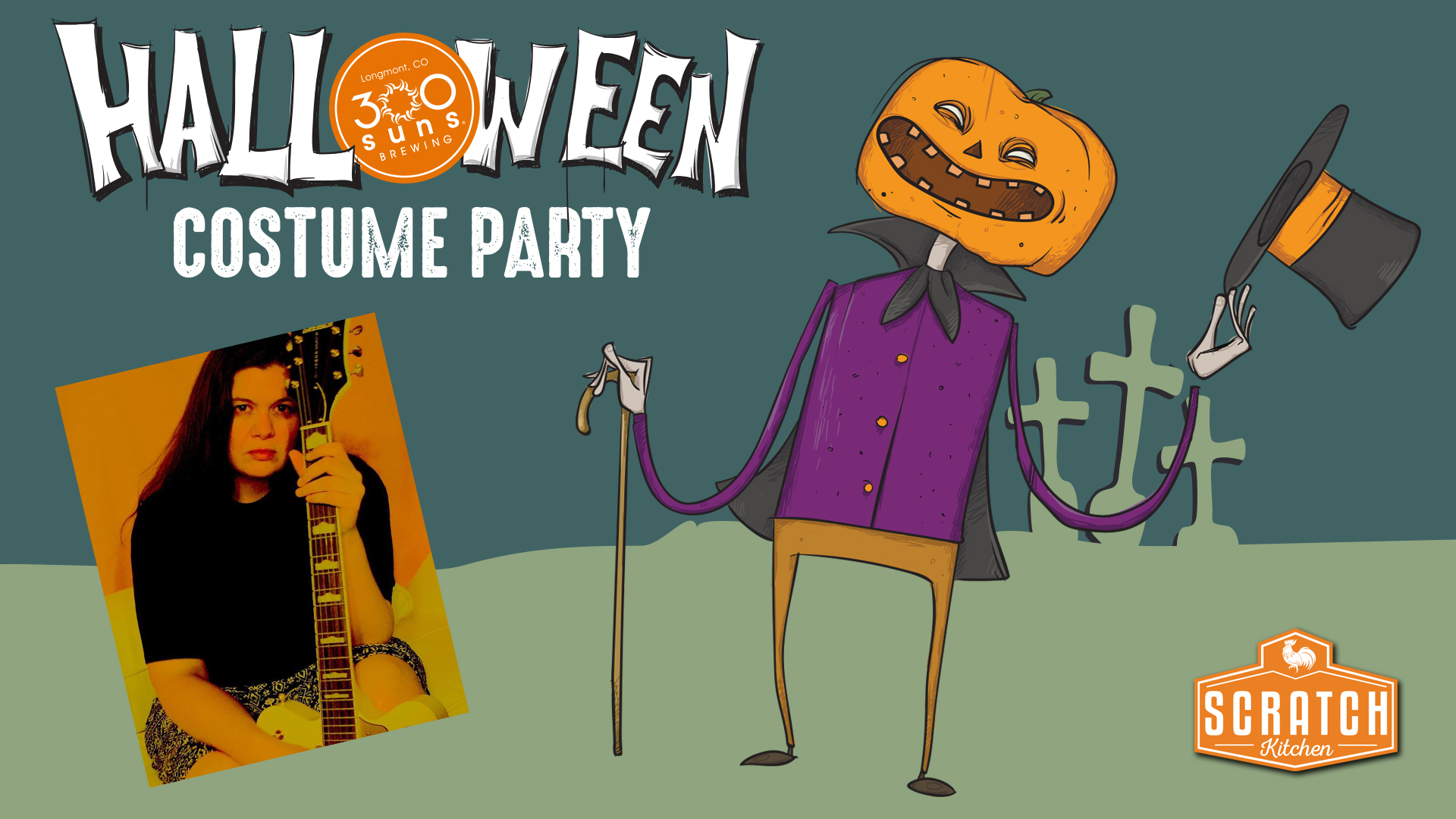Halloween Party – Music with Valerie Bhat